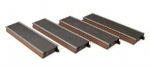 Farish Scenecraft 379-200 4 x Straight Platform sections (red brick)